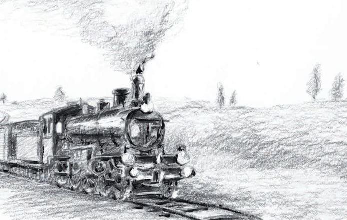 El tren burra llega a Palencia y Valladolid